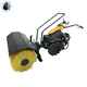 high effective hand-operated mechanical floor sweeper turf sweeper
