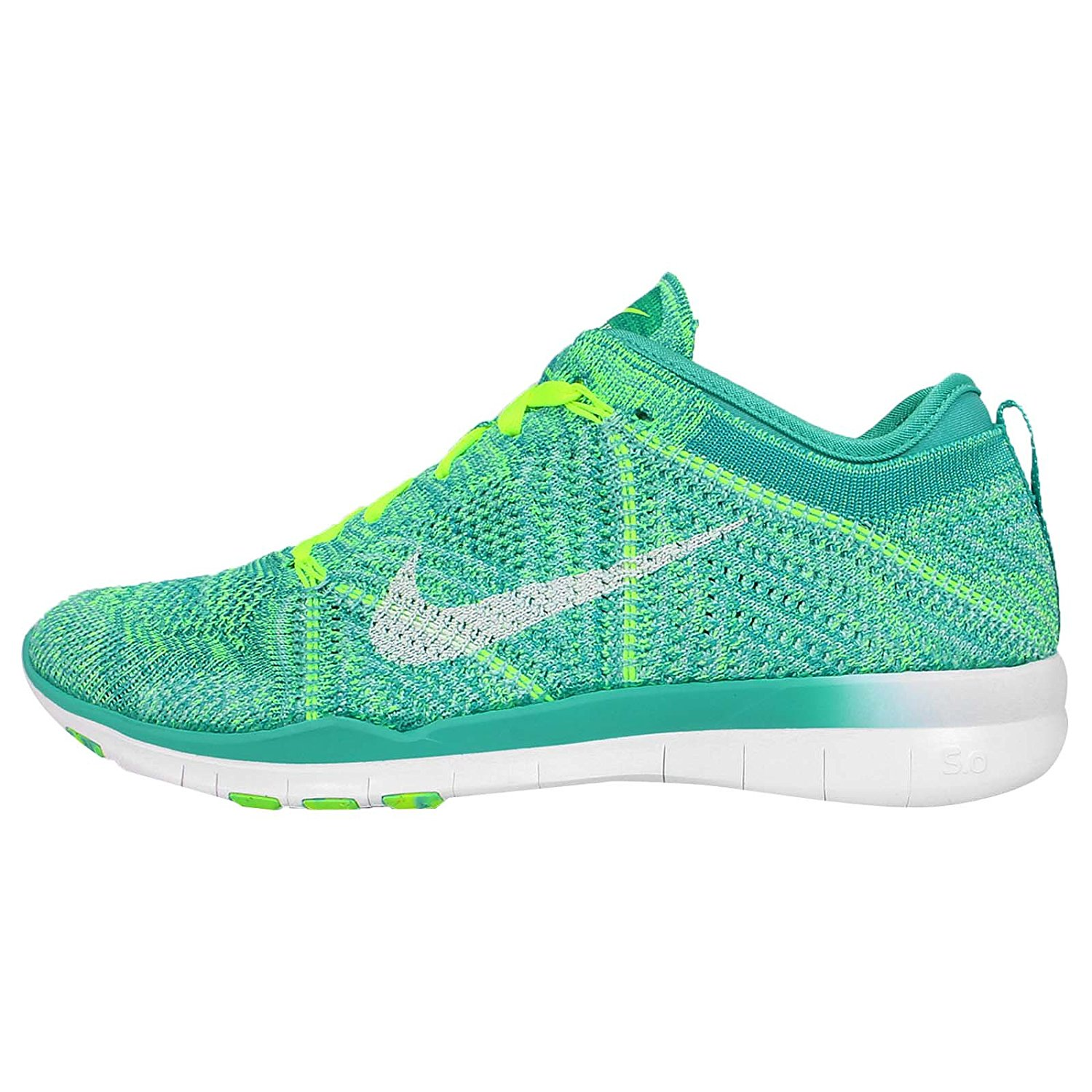 new concept cad05 7b443 Get Quotations · Nike Women s Free TR Flyknit Running Shoes (Prpl Blk-fchs  Glw-lght
