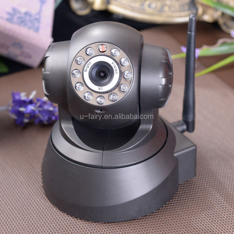 z-wave new technology of automatic 360 degree IP camera with large storeage for home automation