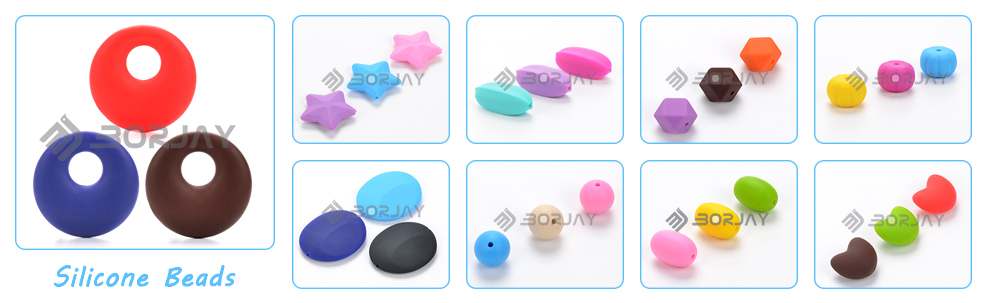 Custom Silicone Baby Teether BPA Free Safety For Baby Chewing