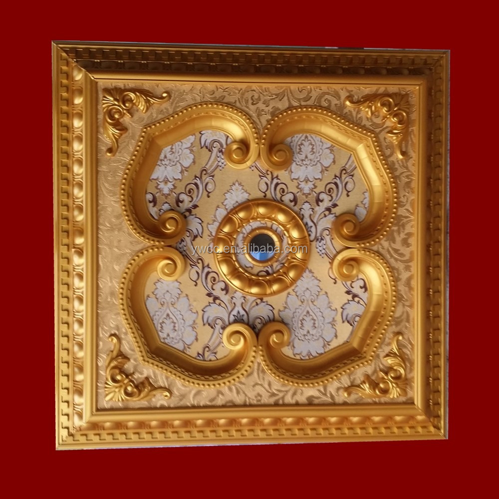 round decoration artistic ceiling tiles, round decoration artistic