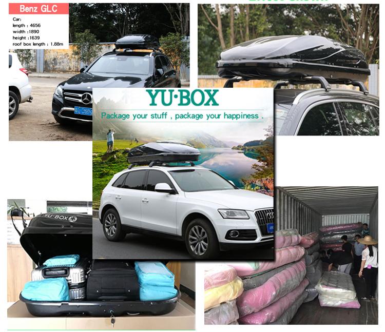 car roof box show