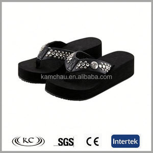 sale online new uk EVA black ladies low heel wedge sandals