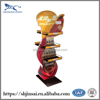 Beverage Metal Display Stand Bottle Soft Drink Display Rack