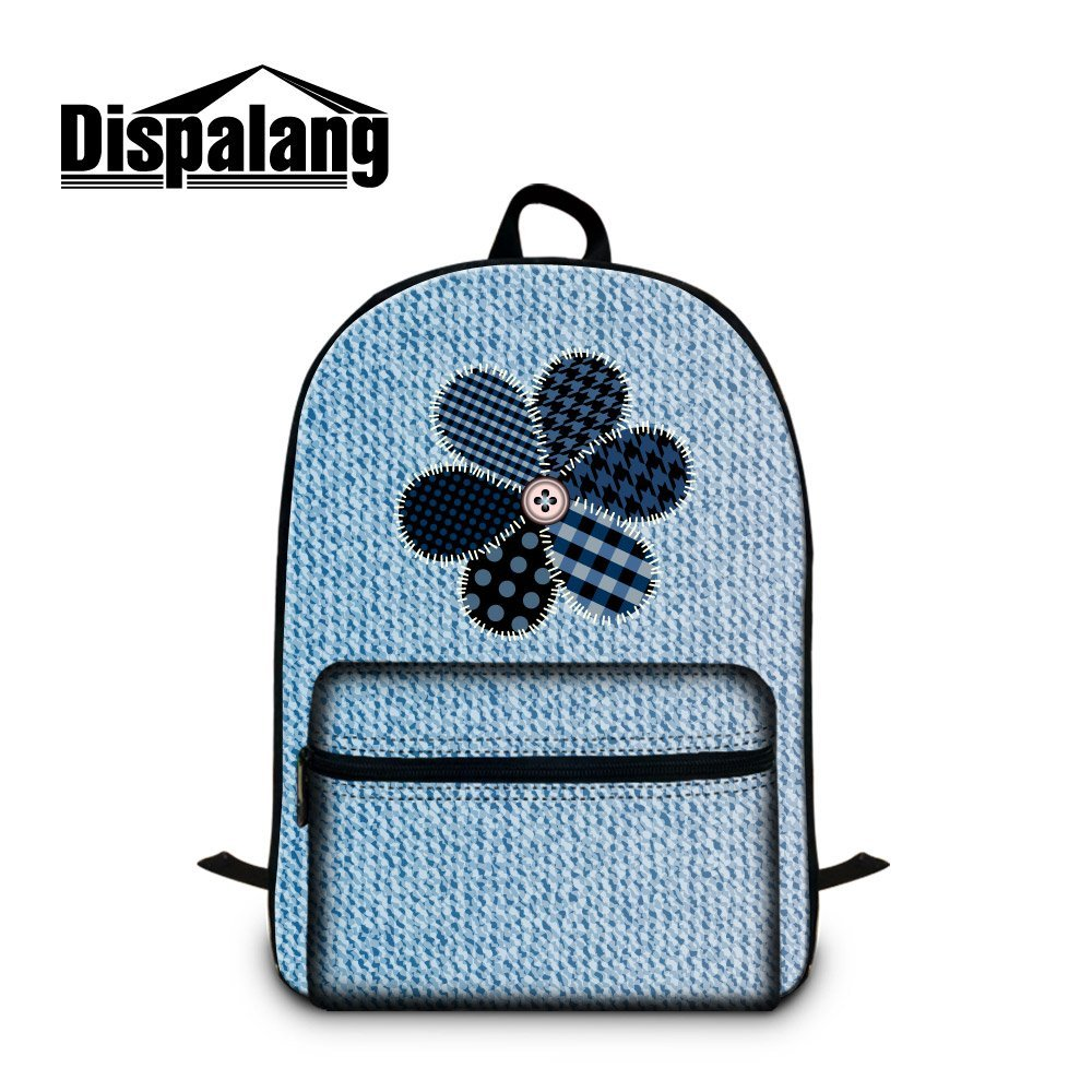 f4aafb705f65 Buy CrazyTravel Jeans Large School Book Bag Back pack For Teens Boys ...