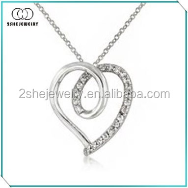 For Mother's Day Silver Twisted love charm
