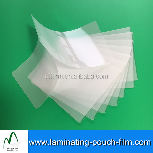 Applicable Stretch Heating Holographic Clear Lamination Pouches Films Sheets