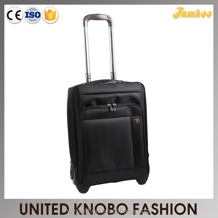 1680D cabin size trolley case carry on luggage EVA soft luggage