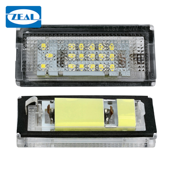 2x Led License Number Plate Light For Bmw E46 3d Compact 4d Sedan 5d  Touring Canbus - Buy Car Interior Led Lights,E46 4d E46 5d Touring,Led  Number