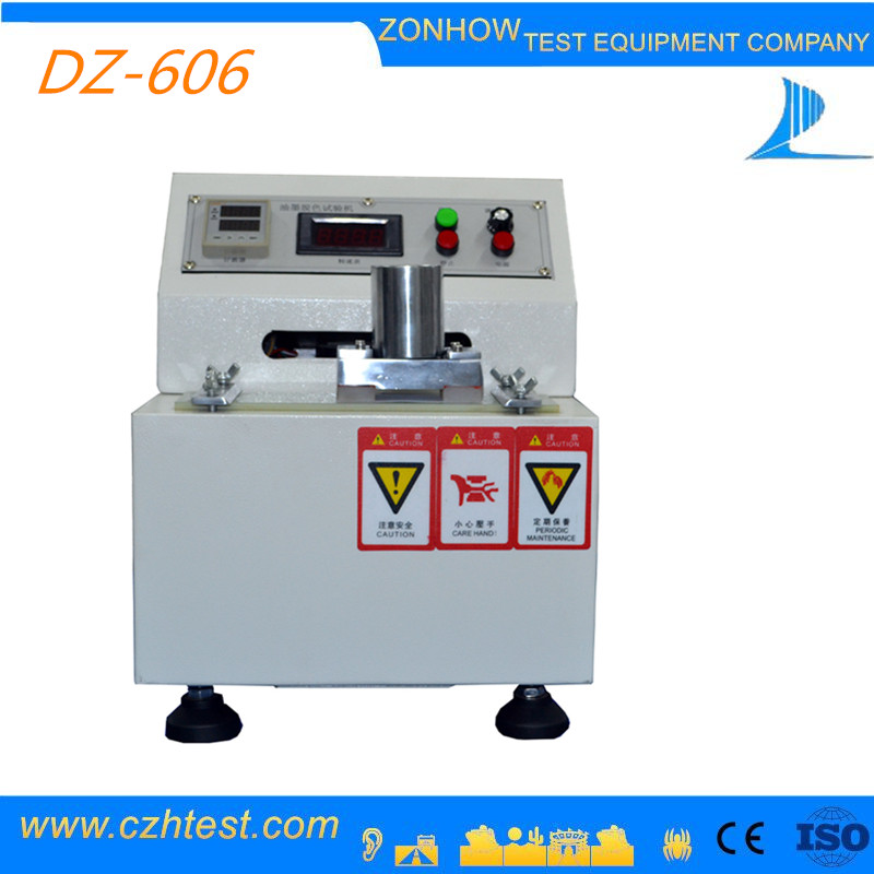 Microcomputer Control And LED Display Ink Abrasion Discoloration Tester