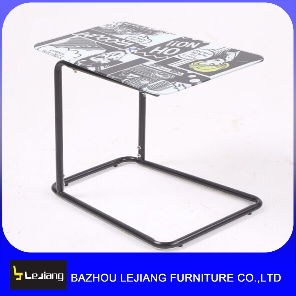 wholesale modern glass mirrored side table