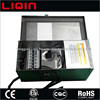 Low voltage outdoor landscape lighting transformer with timer, with photocell