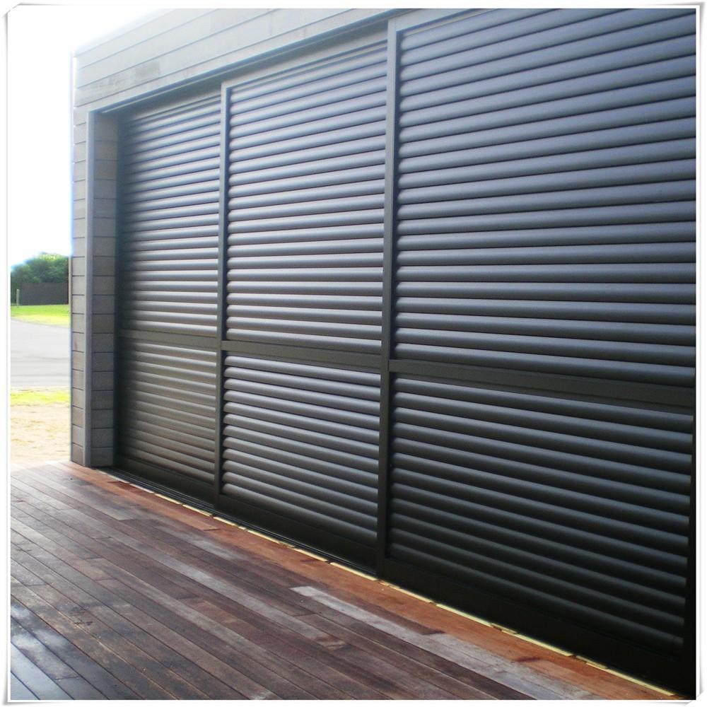 Aluminio exterior persiana puerta puertas identificaci n for Persiana claraboya