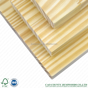 AA Grade and Size of 2440mm*1220mm*30mm Argentina Radiata Pine Finger Joint Boards