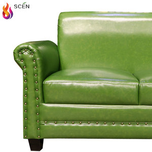 Dark Green Leather Sofa Wholesale, Leather Sofa Suppliers ...