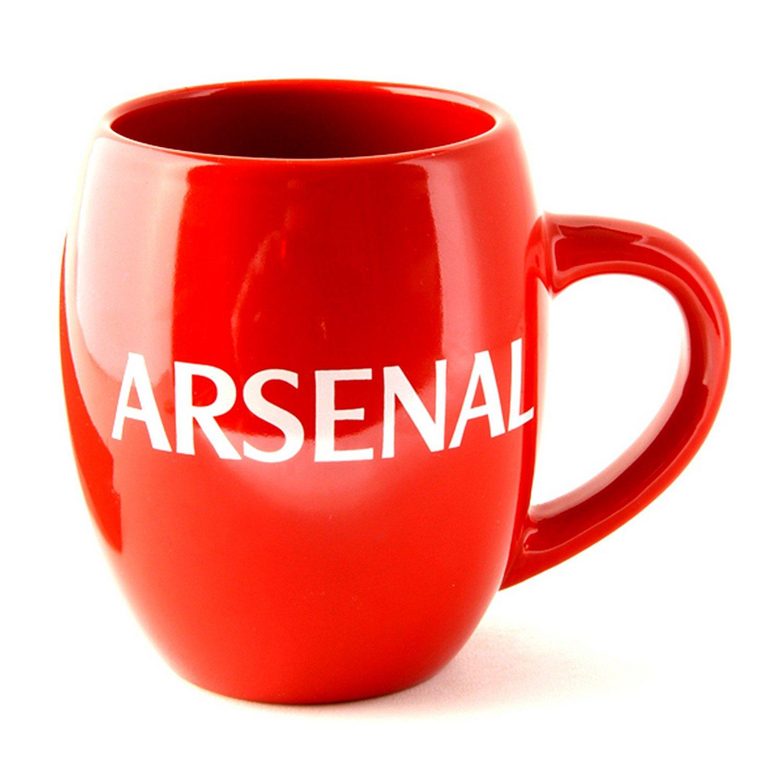 Arsenal FC Official Ceramic Football Crest Tea Mug