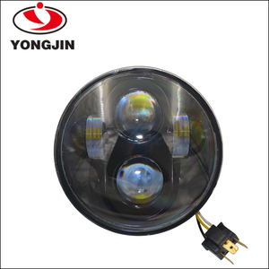 2015 new product 5.75 inch replacement PAR46 sealed beam round 40w LED motorcycle headlight for Harley offroad