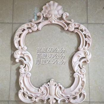 Antique Wood Carvings Decorations Wood Mirror Frame - Buy Wood ...