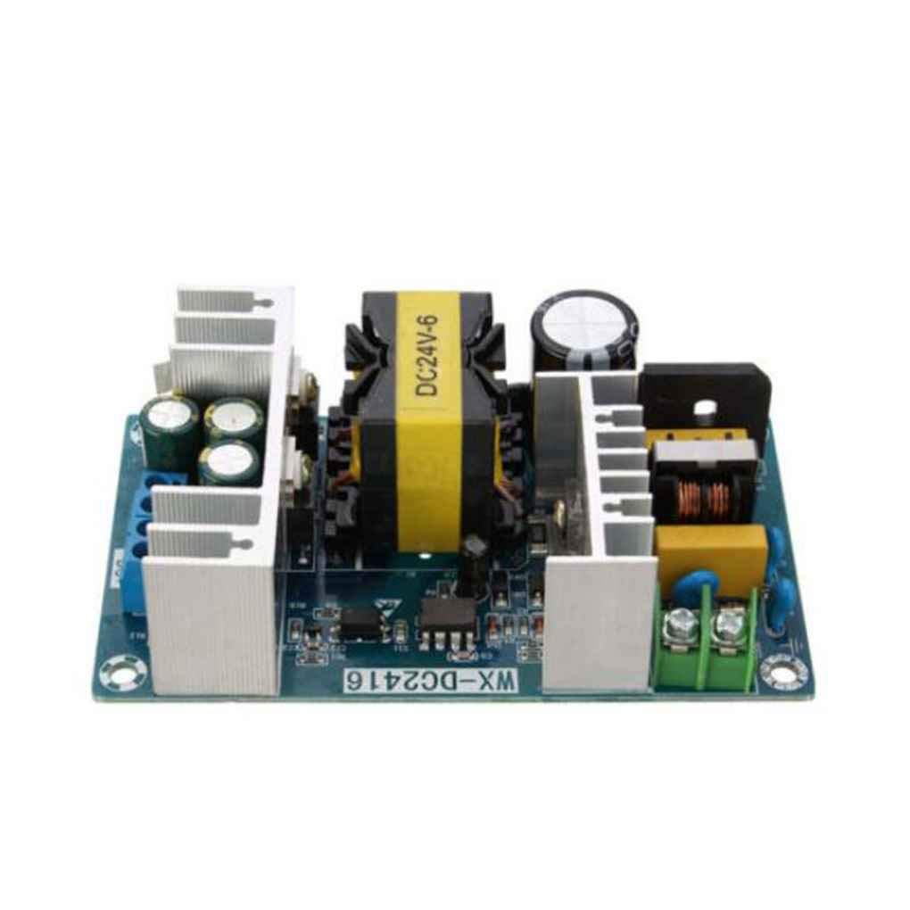 Cocoray AC 100-240V to DC 24V 6A Switch Power Supply Module 150W High Power Industrial Power Supply Bare Board