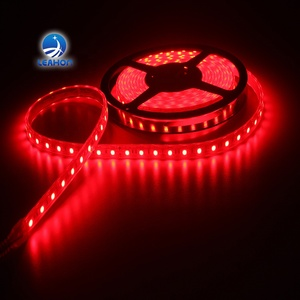 2018 LED led strip 24v led light bar white color ip68 silicon gel waterproof 120 ledsm rgb led strip