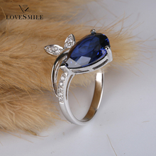 Jewellery wholesale gemstone jewellery lab created gemstone big stone ring designs for women