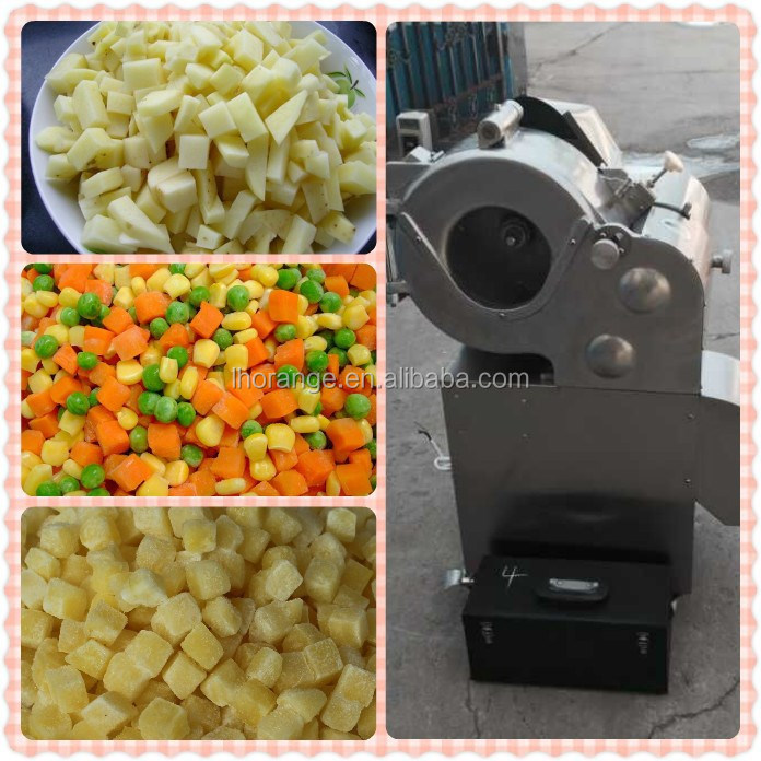 automatic vegetable fruit chopper machine/vegetable cutting machine +86 18939570276