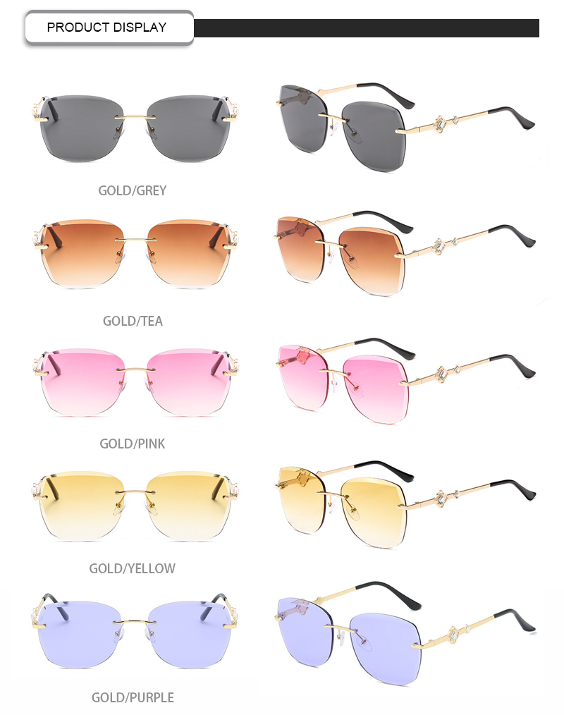 Fuqian stylish sunglasses for ladies factory for lady-13