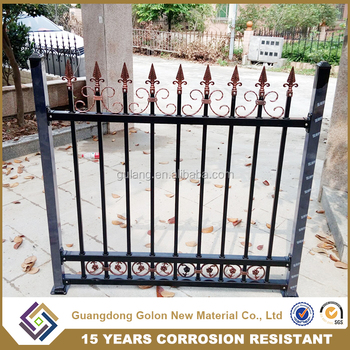 High Quality Wrought Iron Fence Design Gates And Grills Decorative Garden