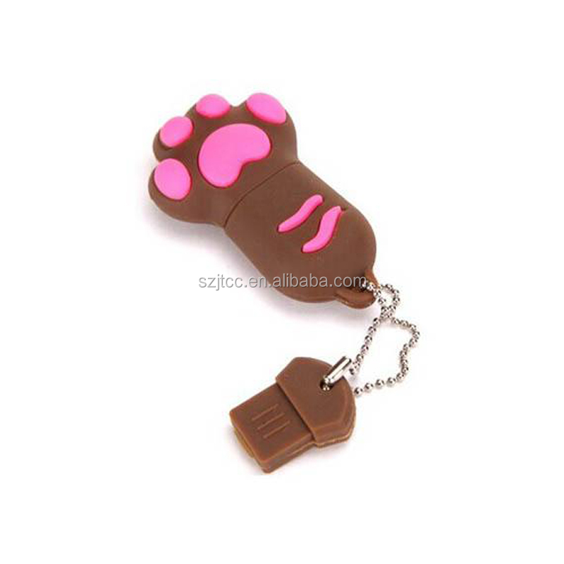 Animal Shape USB Flash Memory Green Cute USB Stick 256MB USB Memory