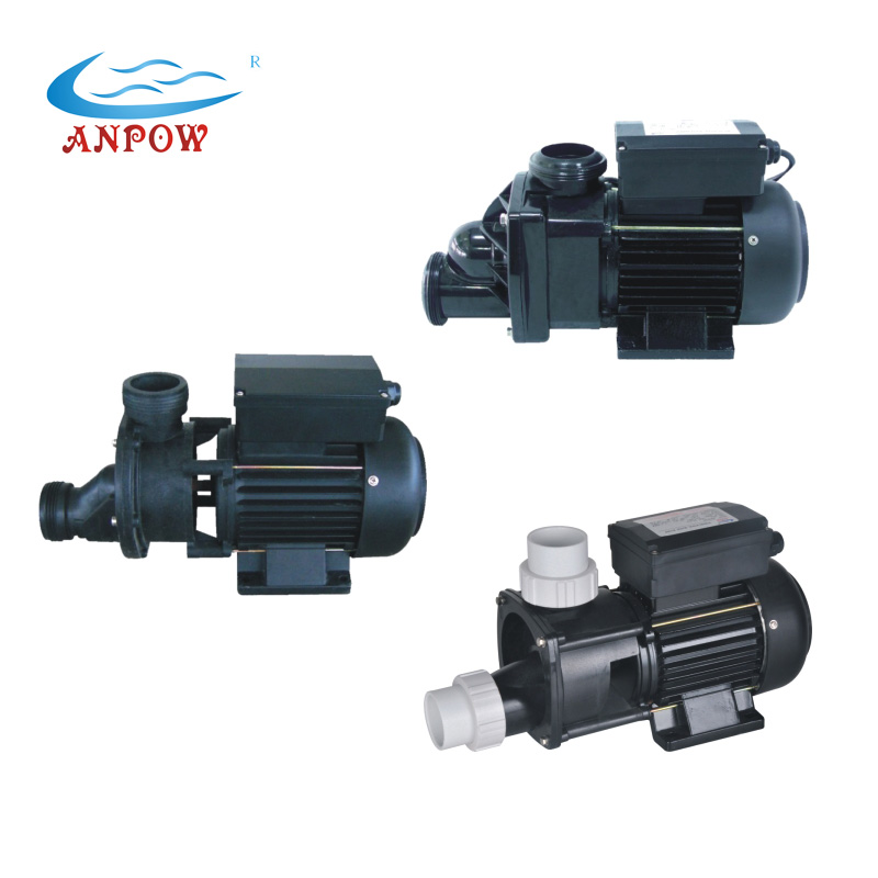 Chinese factory ANPOW 1.5inch 220v single-phase electric circulation pump 0.5hp 0.75hp 1.0hp mini pump water with cheap price