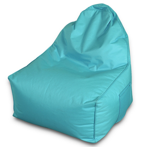 Anti UV and Dust Bean Chair Dark Egg Blue Bean Bag Living Room Chair