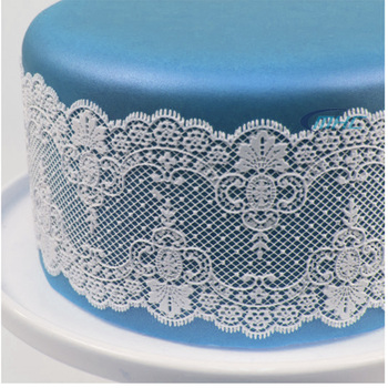 edible cake decorations silicone lace mat wholesale