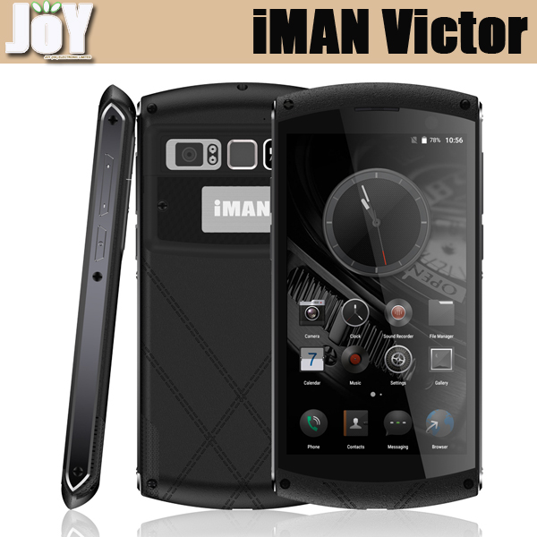 Hot Sale Luxury IP67 Waterproof 5 Inch Android 6.0 MT6755 Octa Core 32GB ROM IMAN Victor 4G LTE Mobile Phone