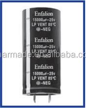 Aluminum electrolytic capacitor Enfalion Lp Series