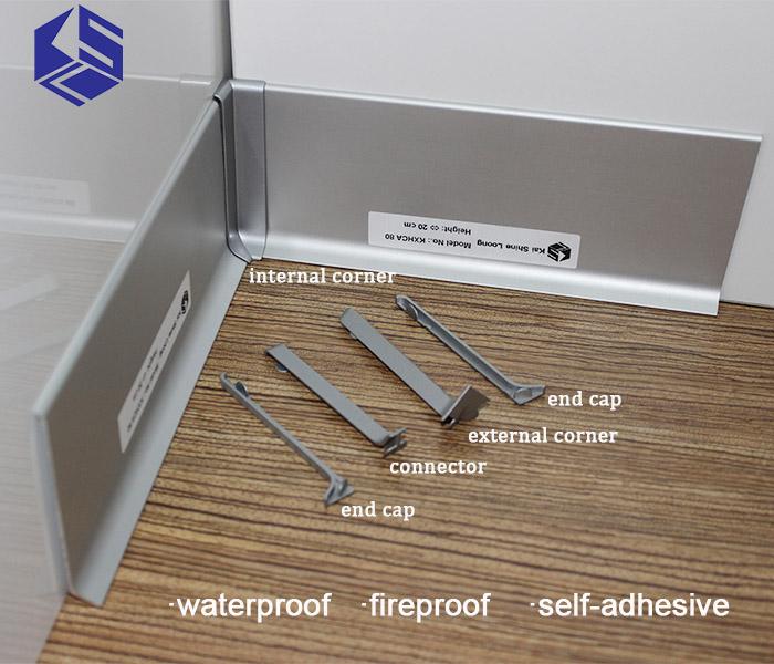 Mdf Flooring Skirting Board Baseboard Molding Export Price