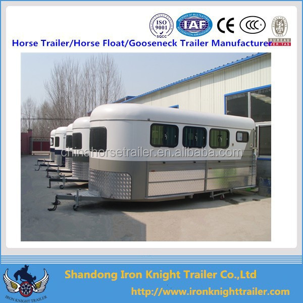 Three Horse Angle Load Float Car Carrying Trailer Clic Trailers Large Carriage Product On Alibaba Com
