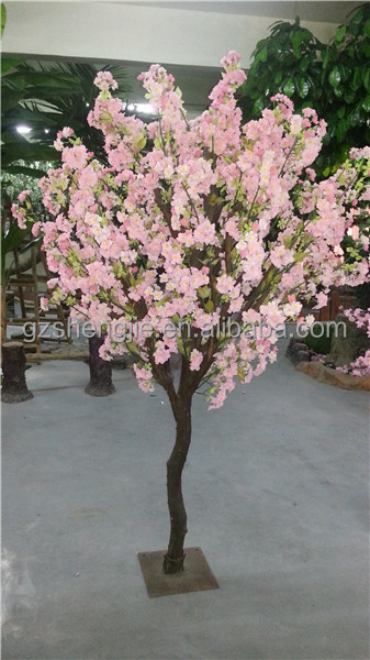 Artificial decorative silk flower trees large and small plastic tree artificial decorative silk flower trees large and small plastic tree made by chinese supplier for garden mightylinksfo