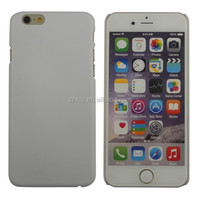 3D UV printing sublimation custom design hard polycarbonate PC plain blank cell phone case for iphone 6 6s