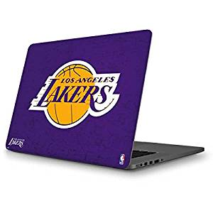 NBA Los Angeles Lakers MacBook Pro 13 (2013-15 Retina Display) Skin - Los Angeles Lakers Purple Primary Logo Vinyl Decal Skin For Your MacBook Pro 13 (2013-15 Retina Display)