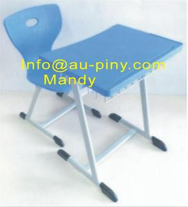 (Furniture)Plastic Student table and chair set ,Saudi Arabia Design
