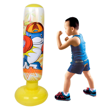 Inflatable Punching Stand Boxing Tower Heavy Bag For Kids Training