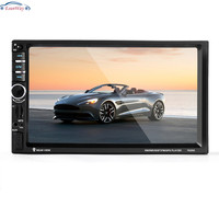 2 Din 7 Inch MP4 MP5 Player HD In Dash Car Radio Touch Screen Bluetooth Stereo