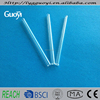 Clear fused precision quartz glass tubing