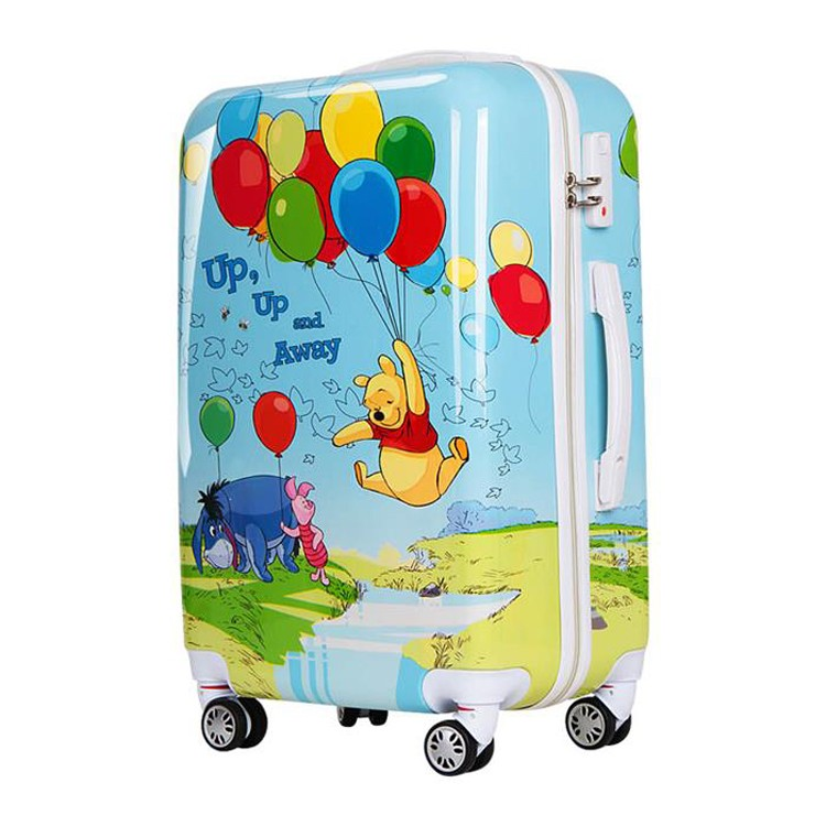 Funky Butterfly School Kids Hard Shell Trolley Case Suitcases ...