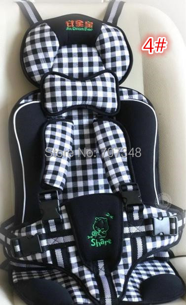 Автокресло новый кресла автомобиля безопасности 100% хлопка ремень безопасности высокое качество