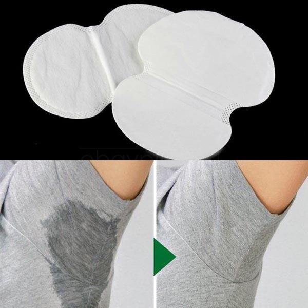 2 шт. подмышечный пота колодки защита гвардии впитывание абсорбирующими одноразовый анти-пот запах лист одежда