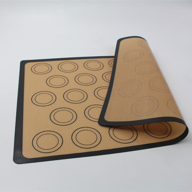 Kitchen Reusable Heat Resistant Silicone Washable Sticky Mat Custom Printed Table Mats