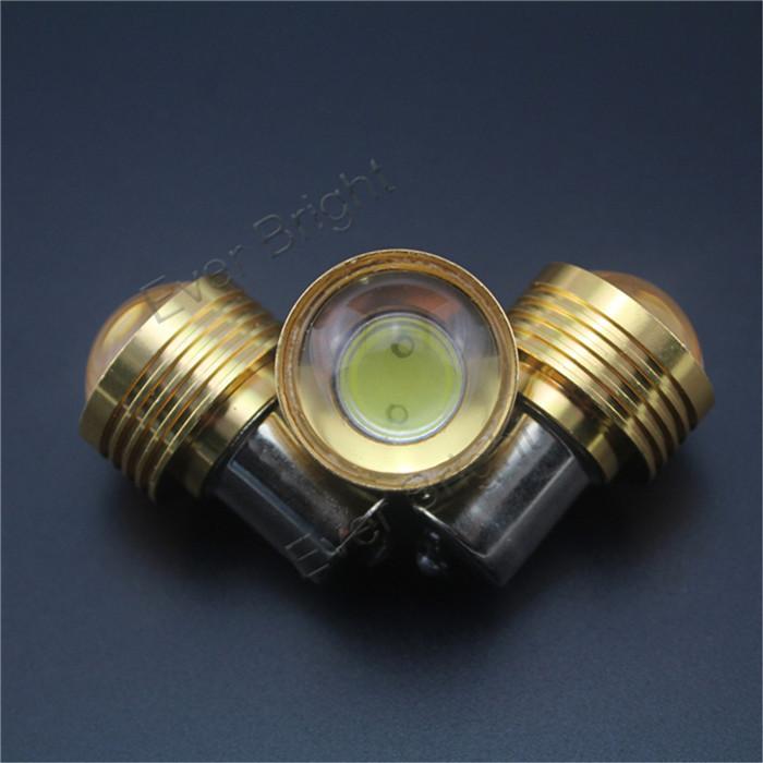 5 шт. из светодиодов задние фонари S25 1156 3 Вт BA15S 1 из светодиодов автомобиль стоп-сигналы белый вспять лёгкие