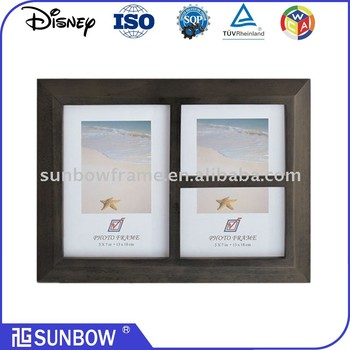 Distressed Plastic Photo Frame Frame Collage,Holds 2-5*7\