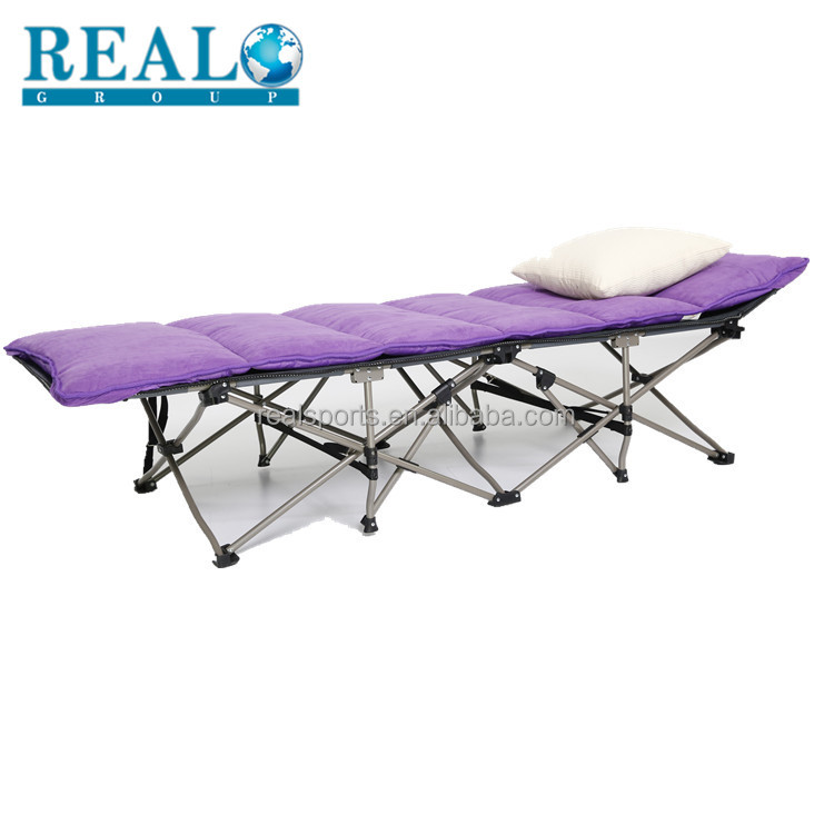 Realgroup Aluminum Folding Cot bed High Quality Portable Price Of Folding Hot Sale Metal Folding Cot